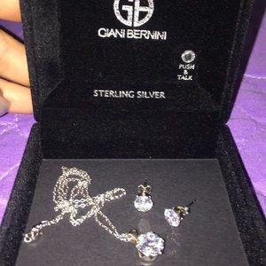 Giani Bernini Earrings and Necklace